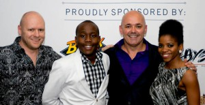Makulu Team with Idols winner Khaya Mthethwa